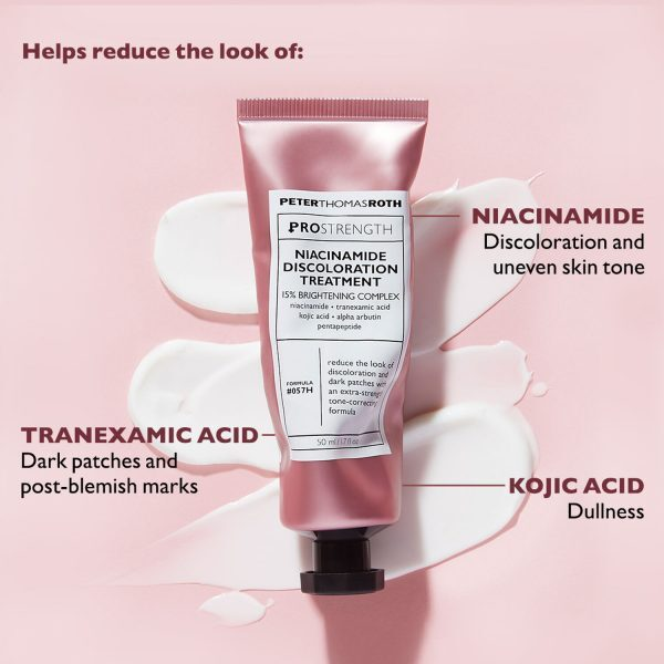 PETER THOMAS ROTH PRO Strength Niacinamide Discoloration Treatment Wirsamkeit