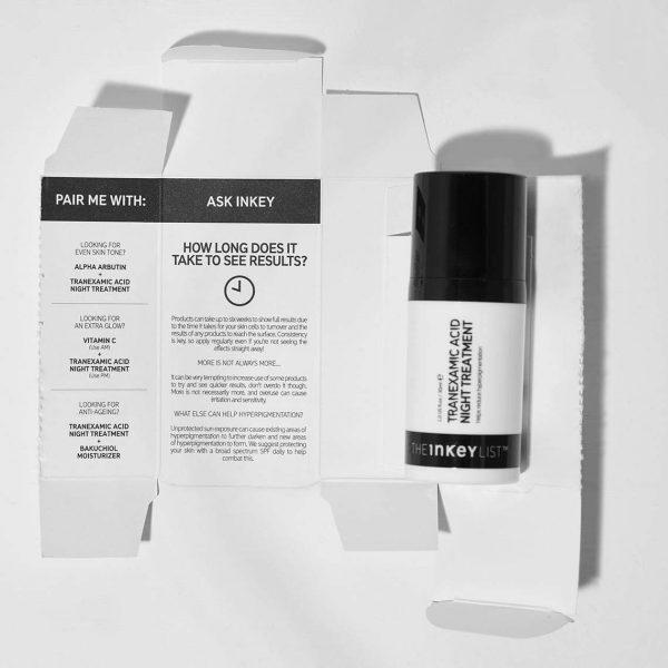 THE INKEY LIST Tranexamic Acid Night Treatment Box