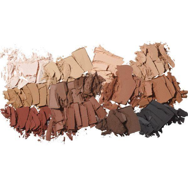 MAKEUP BY MARIO Master Mattes Eyeshadow Palette Swatches Shades Color Farben aufgetragen Haut