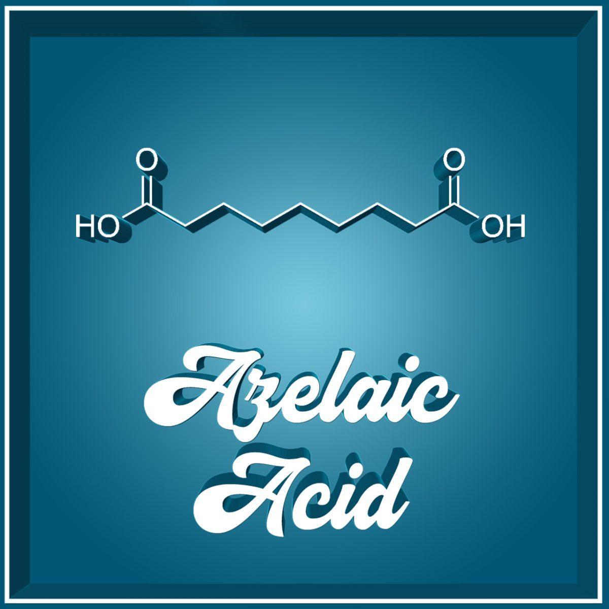 Azelaic Acid Azelainsäure Molekül