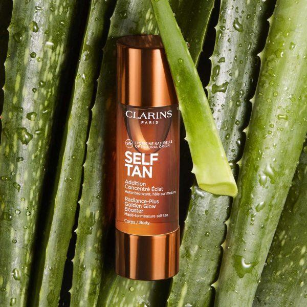 CLARINS Self Tan Radiance-Plus Golden Glow Booster Drops Body Aloe