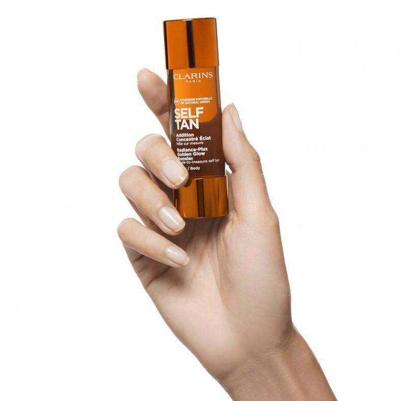 CLARINS Self Tan Radiance-Plus Golden Glow Booster Drops Body Flasche