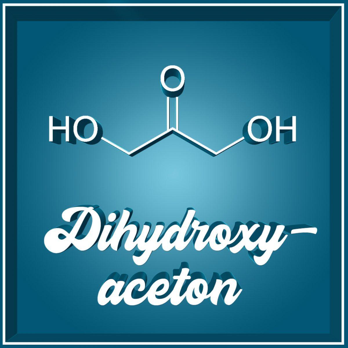 DHA Dihydroxyaceton Selbstbräuner Selftanner Molekül
