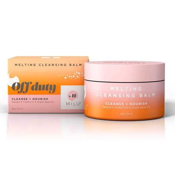 MILU Off-duty Melting Cleansing Balm Packaging