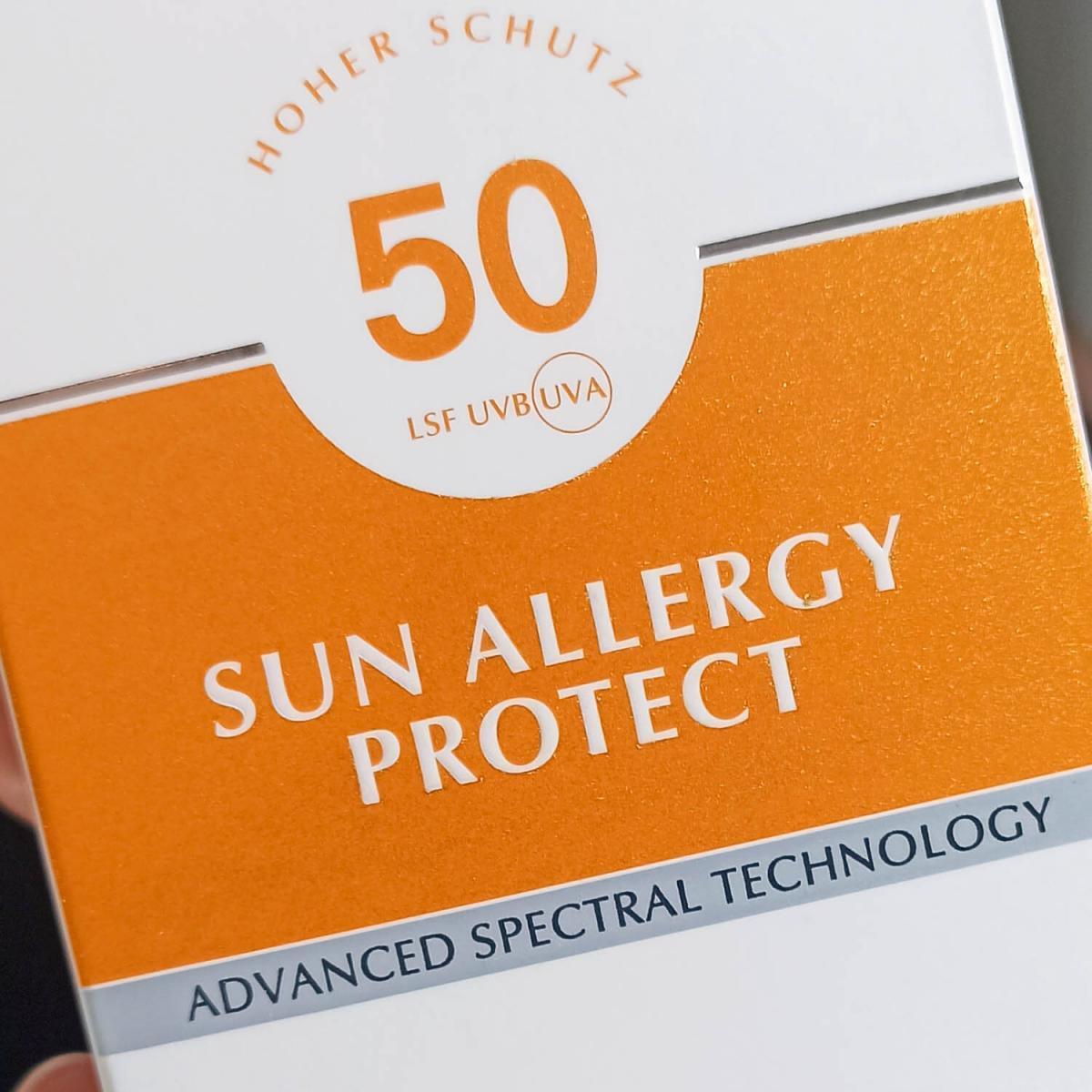 Sonnencreme Allergie allergische Haut Eucerin