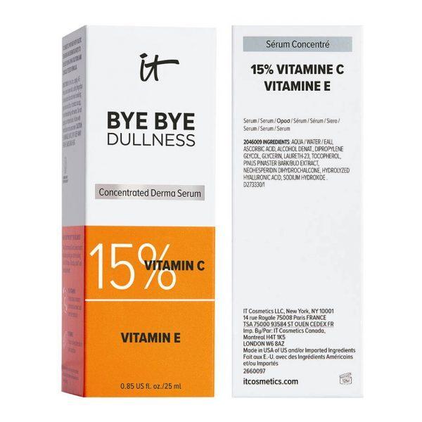 IT COSMETICS Bye Bye Dullness Vitamin C Serum 15 Ascorbic Acid Ascorbinsäure Karton Verpackung Box