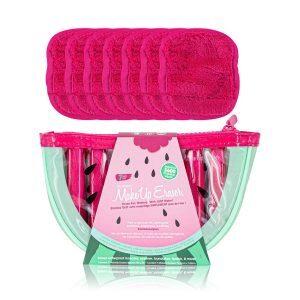 MAKEUP ERASER Watermelon 7-Day Set Mikrofasertuch Reinigungstuch Gesichtsreinigungstuch milde Reinigung kaufen bestellen Erfahrungen Review Test
