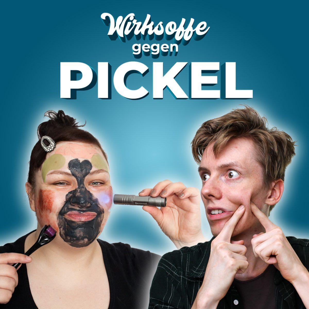 Pickel loswerden gegen Akne bekämpfen reduzieren Wirkstoffe gegen Pimples Acne heilen