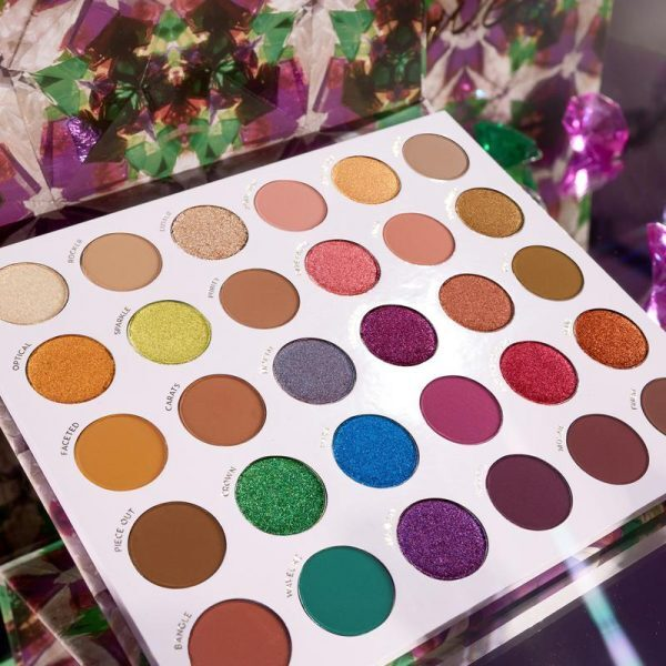 COLOURPOP Play It Jewel Eyeshadow Palette Shades
