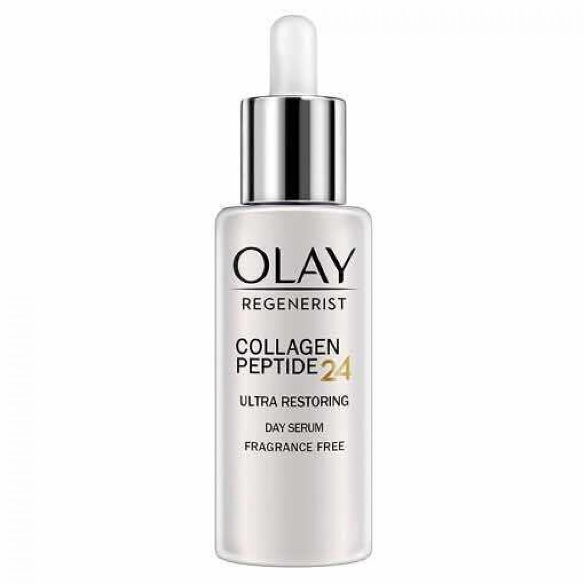 OLAY Regenerist Collagen Peptide 24 Ultra Restoring Day Serum Fragrance Free