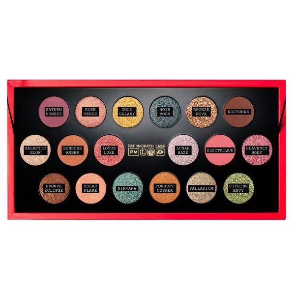 PAT McGRATH LABS MTHRSHP MEGA Celestial Odyssey Eyeshadow Palette Colors Shades Farben