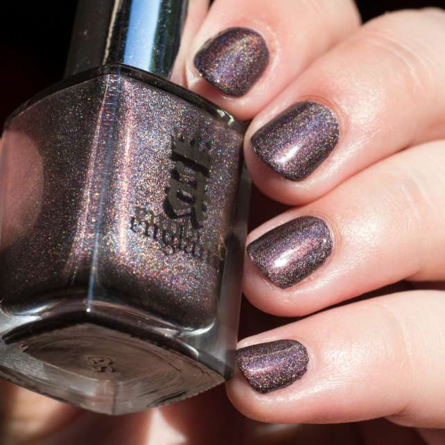 A ENGLAND Sleeping Palace Nail Polish Holo Effect