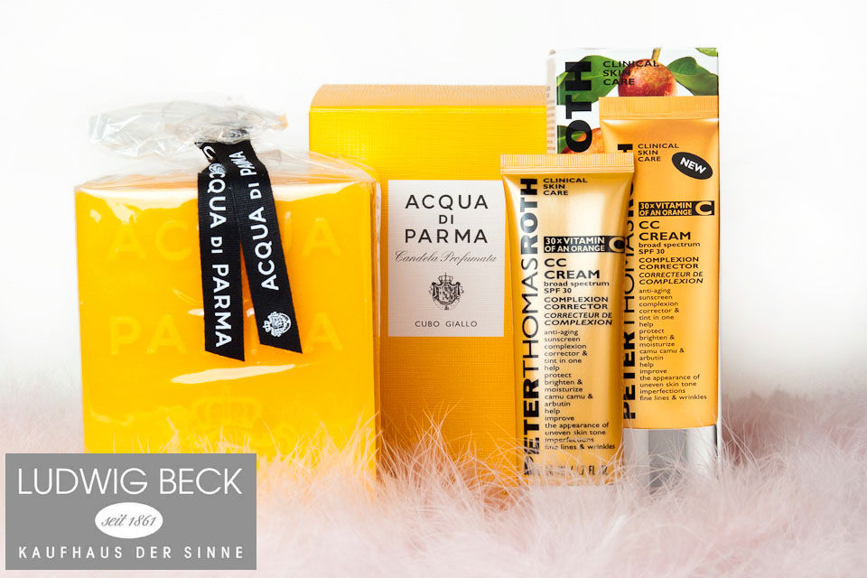 Adventskalender Tuer 4 Ludwig Beck Acqua di Parma Aveda Peter Thomas Roth CC Cream Adventskalender