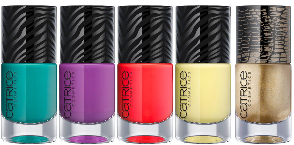 CATRICE Ultimate Nail Lacquer Dirty Liana Flower Survivor Lime Heart Beating Like Jungle Drum - Glamazona