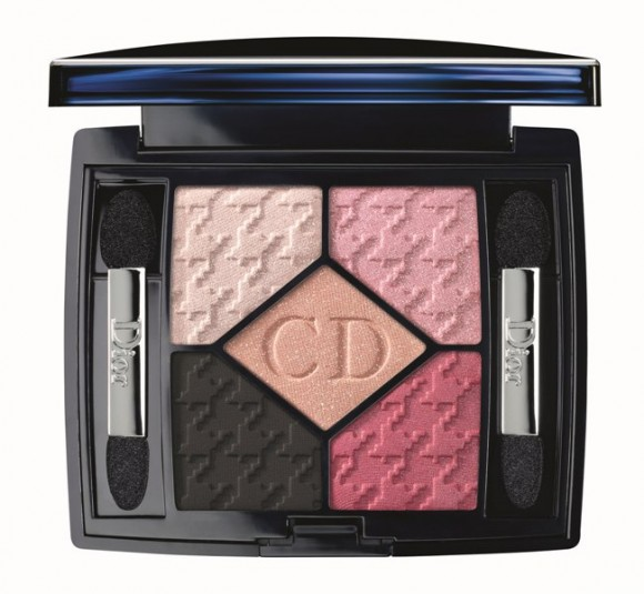 DIOR Rose Charmeuse 854 5 Couleurs Eyeshadow Palette - The Cherie Bow