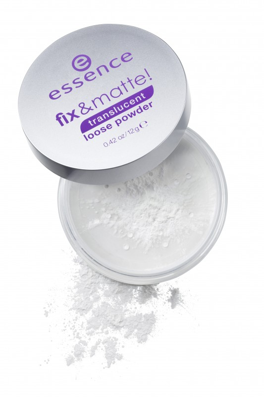 ESSENCE Fix matte Translucent Fixing Powder