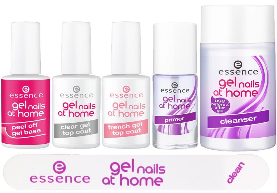 Essence Gel Nails At Home Aus Dem Sortiment