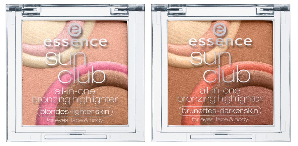 ESSENCE Sun Club All-in-One Bronzing Highlighter