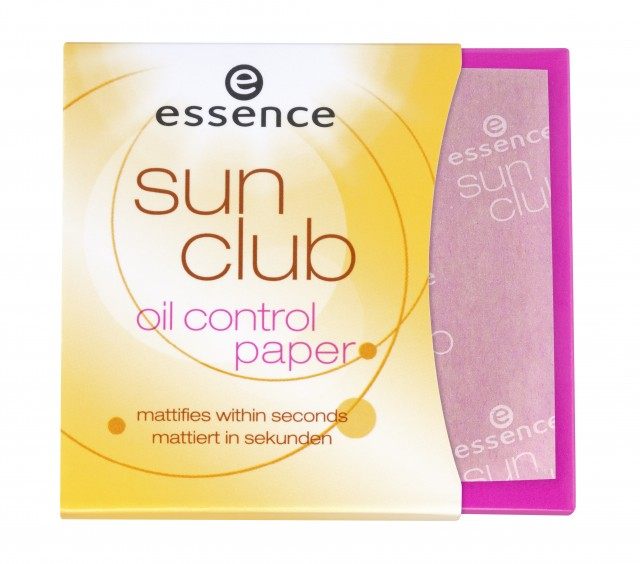 ESSENCE Sun Club Oil Contol Paper