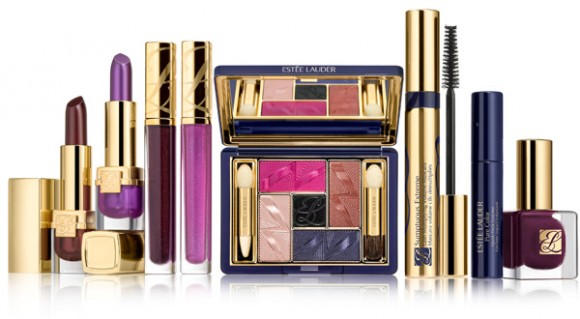 ESTEE LAUDER Violet Underground Products - Fall 2012