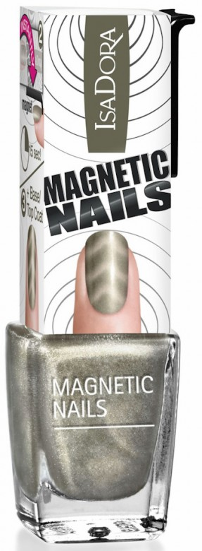 IsaDora Magnetic Nails Chrome on 850