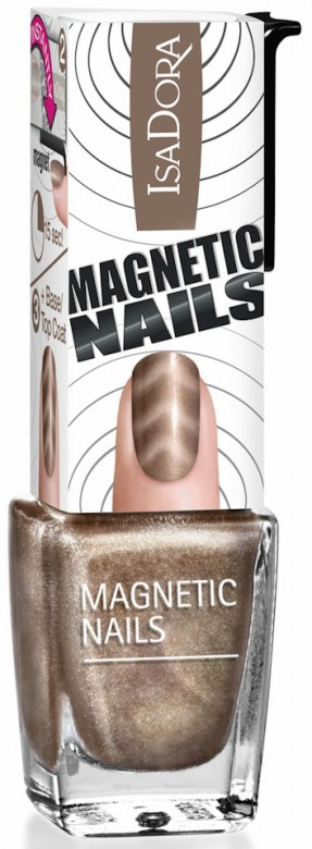 IsaDora Magnetic Nails Gun Metal 851