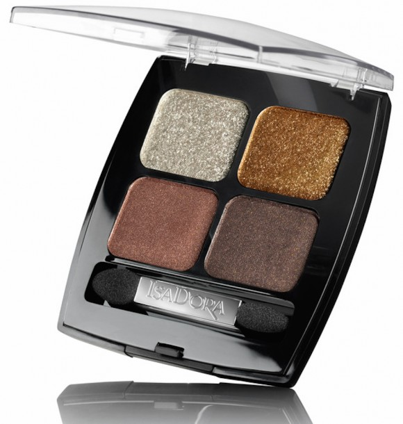 IsaDora Paradox Eye Shadow Quartett Brown Patina