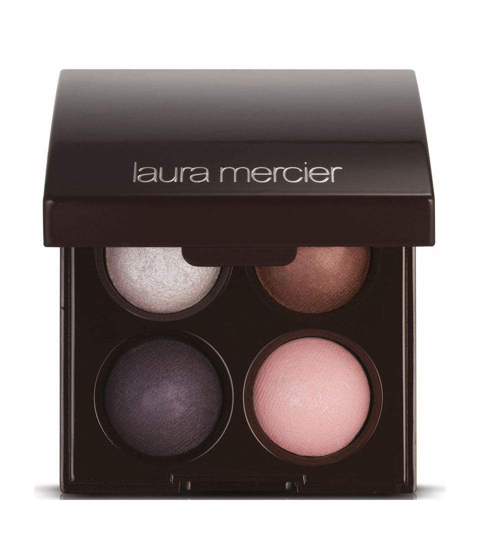 LAURA MERCIER Baked Eye Colour Quad Rendezvous In Monte Carlo New Attitude Collection 2014