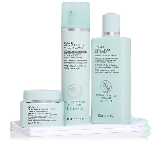 LIZ EARLE Tagesangebot QVC Hot Cloth Cleanse Polish Cleanser Reiniger