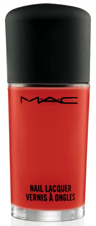 MAC Kid Orange Nail Lacquer - Shop Shop Shop Cook Cook Cook