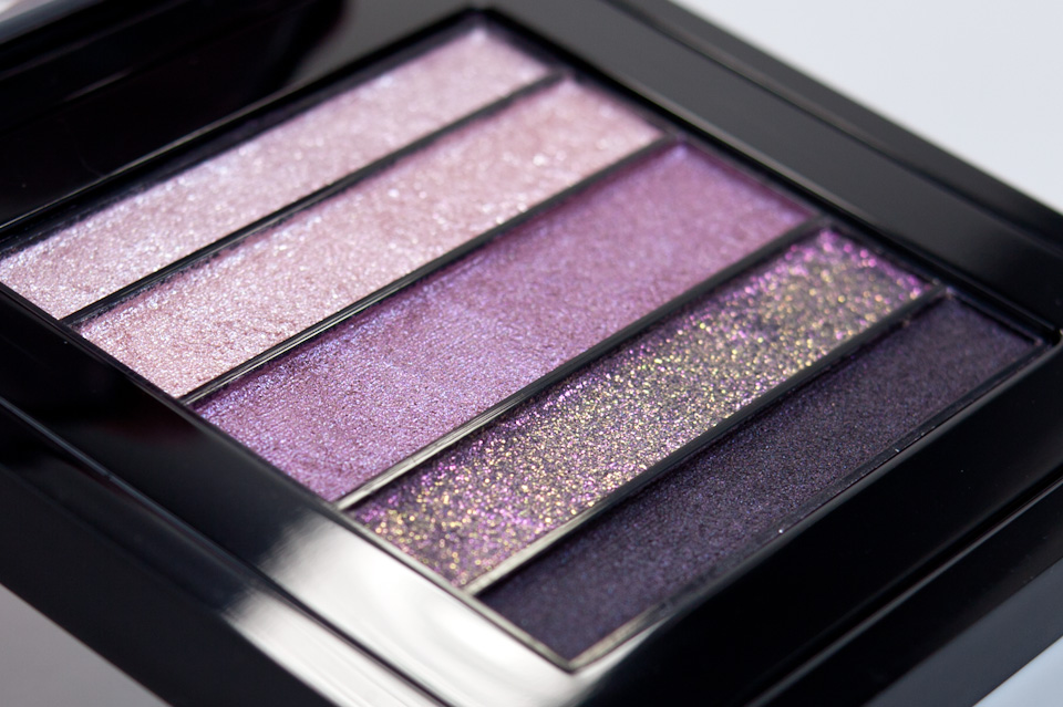 MAC Pinkluxe Veluxe Pearlfusion Shadow Palette Closeup