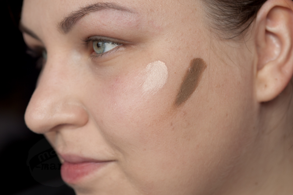 MAC Pro Sculpting Cream: Coffee Walnut - Accentuate Swatched