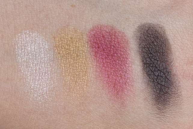 NARS Hanamichi Eyeshadow Palette Makeup Swatches