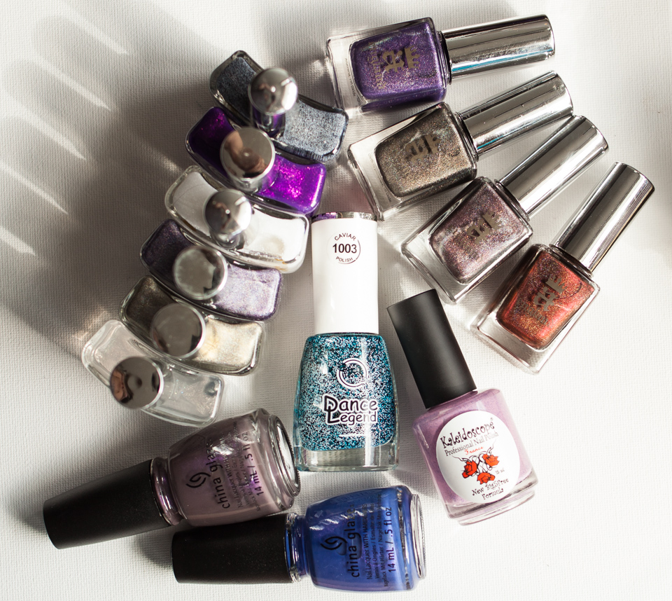Nail Polish Haul Hypnotic aEngland El Corazon China Glaze
