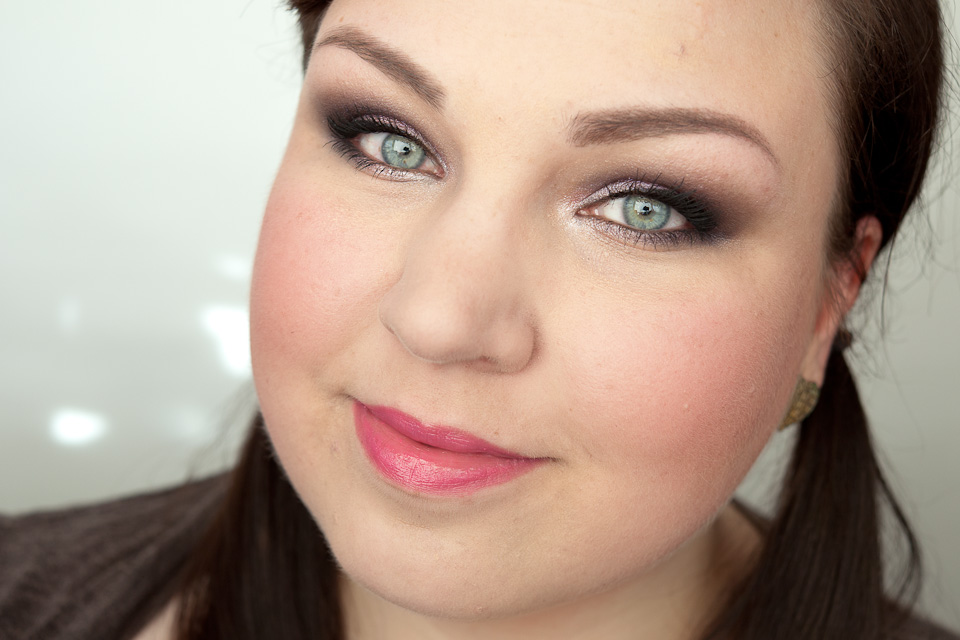 Rosa Lila Makeup MAC Veluxe Pearlfusion Pinkluxe
