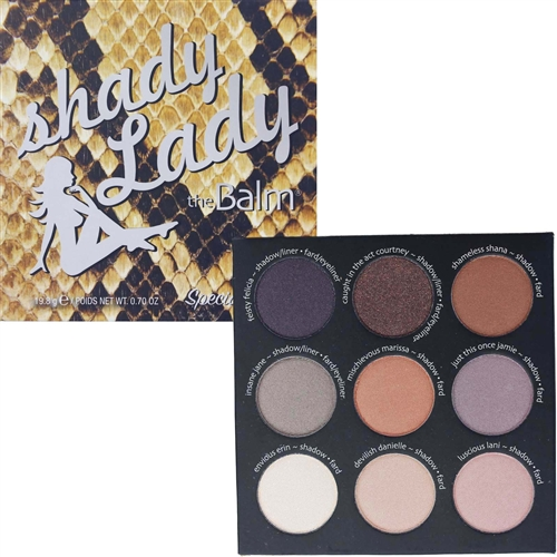 the Balm Shady Lady Special Eyeshadow Palette